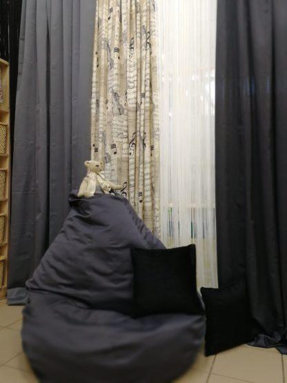Кресло груша Ижевск черное
